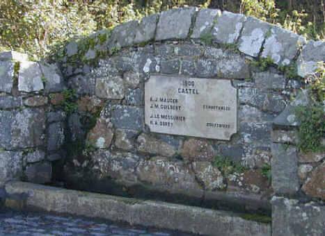 Abreuvoir on Les Clos au Comte Rd, Castel